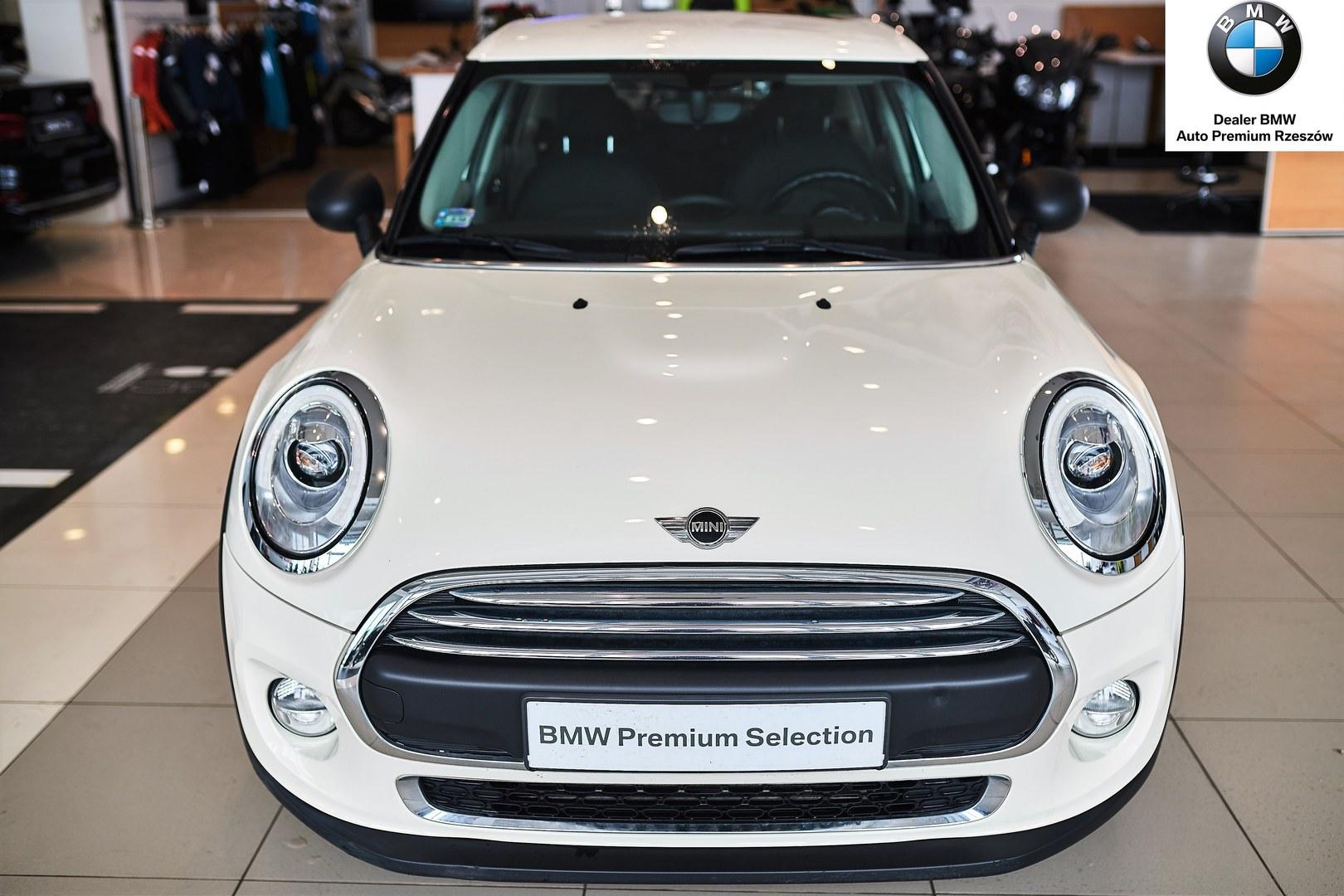 Mini 5 Drzwiowe One Biały Autoryzowany Serwis Bmw Auto Premium świlcza