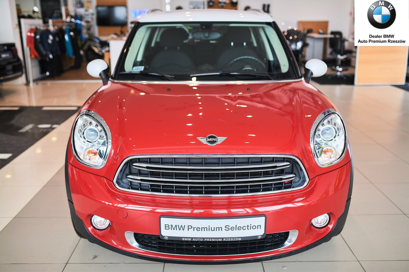 Mini Countryman Czerwony Autoryzowany Serwis Bmw Auto Premium świlcza